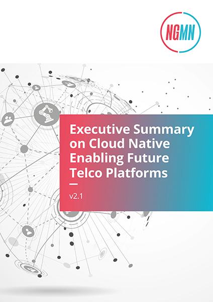 NGMN Deckblatt Cloud Native Platforms Executive Summary 424x600