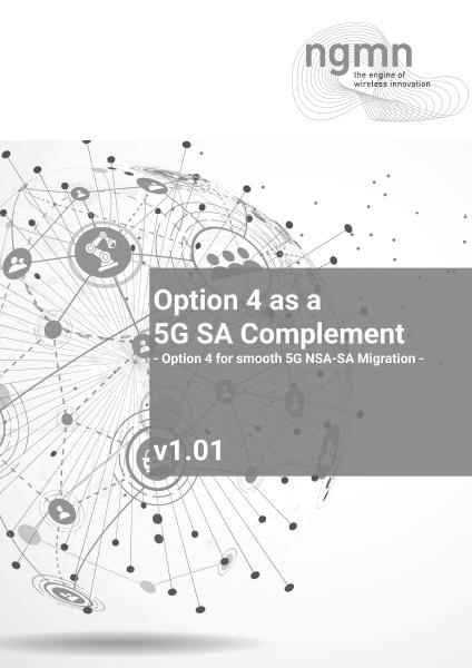 Option 4 for 5G Standalone WP V101 20210111 v1.01 clean