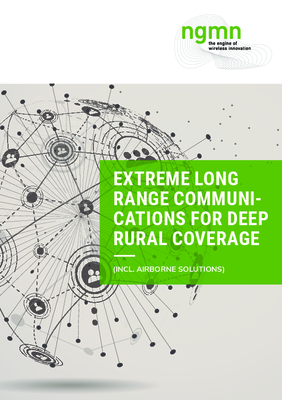 Extreme Long Range Communications for Deep Rural Coverage